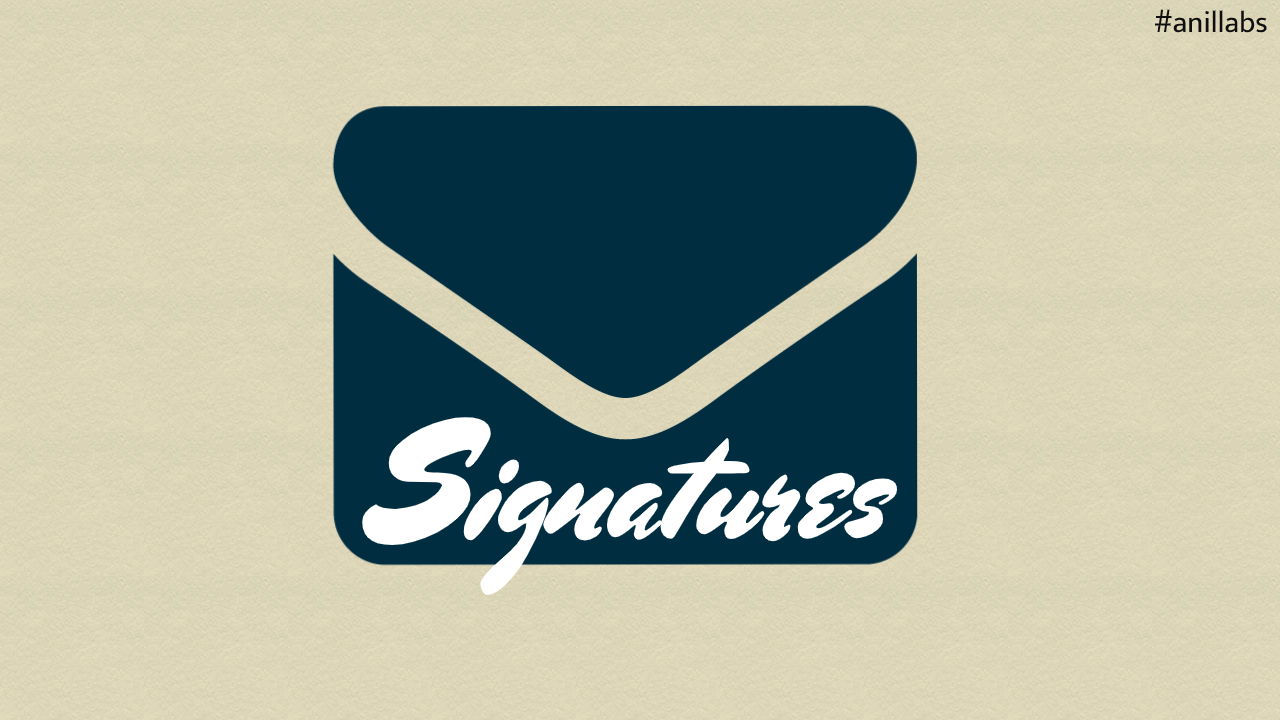 HOW TO CREATE AND USE THE EMAIL SIGNATURES